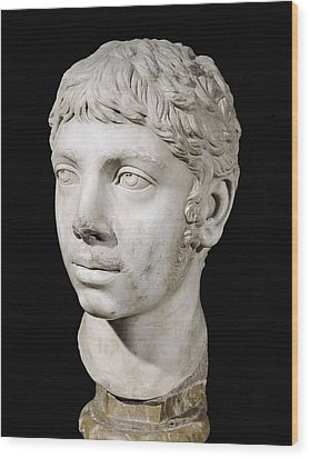 Bust Of Heliogabalus. 3rd C. Roman Art Wood Print by Everett