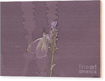 Butterfly 3 Wood Print by Carol Lynch