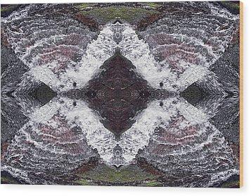 Butterfly Effect Wood Print by Dawn J Benko