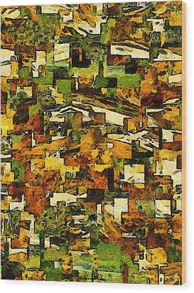 California Wood Print by RC deWinter