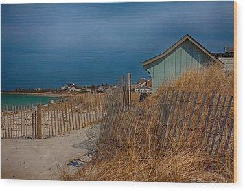 Cape Cod Memories Wood Print by Jeff Folger