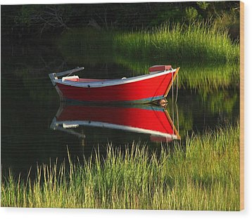 Cape Cod Solitude Wood Print by Juergen Roth