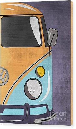 Car  Wood Print by Mark Ashkenazi