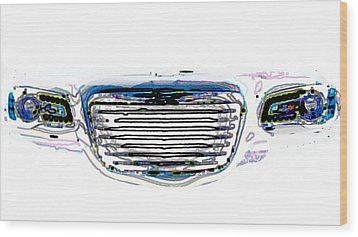 Car Mri Wood Print by Tom Gari Gallery-Three-Photography