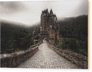 Castle In The Mist Wood Print by Ryan Wyckoff