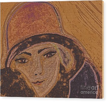 Chapeau By Jrr Wood Print by First Star Art
