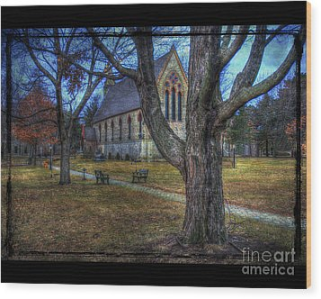 Chapel Wood Print by Jim Wright