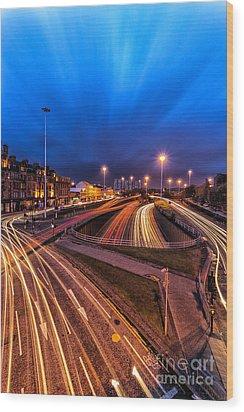 Charing Cross Glasgow Wood Print by John Farnan
