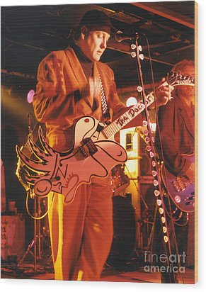 Cheap Trick-93-rick-3 Wood Print by Gary Gingrich Galleries