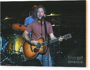 Chris Tomlin 8206 Wood Print by Gary Gingrich Galleries