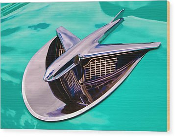 Chrome Aircraft Wood Print by Phil 'motography' Clark