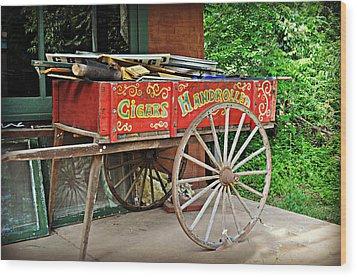 Cigar Wagon Wood Print by Marty Koch