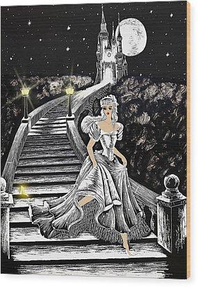 Cinderella Wood Print by Svetlana Sewell