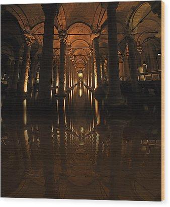 Cisterna Basilica Wood Print by Ivana Miletic