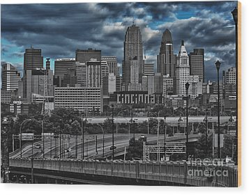 City Of Color Wood Print by Steve Johnson