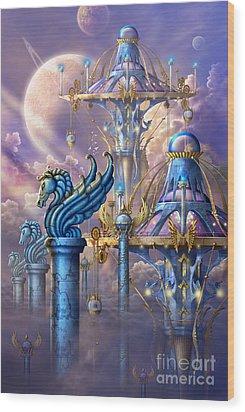 City Of Swords Wood Print by Ciro Marchetti