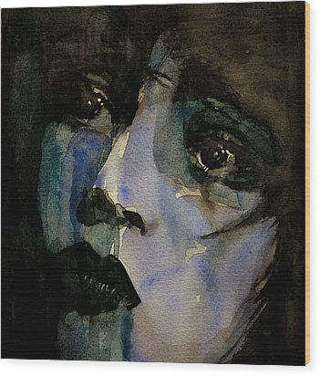Clara Bow  Wood Print by Paul Lovering