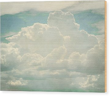 Cloud Series 2 Of 6 Wood Print by Brett Pfister