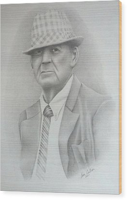 Coach Wood Print by Don Cartier