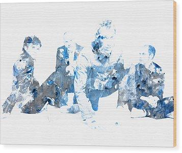 Coldplay Wood Print by Brian Reaves