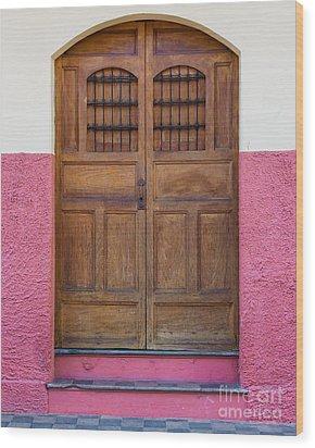 Colors Of Granada I Wood Print by Christina Klausen