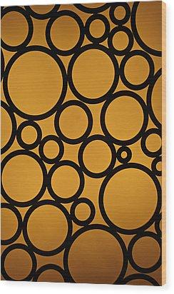Come Full Circle Wood Print by Christi Kraft