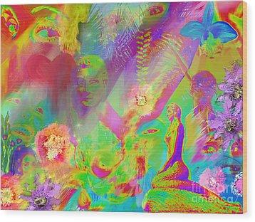 Complete Lovely Mayhem Wood Print by Michelle Wiarda