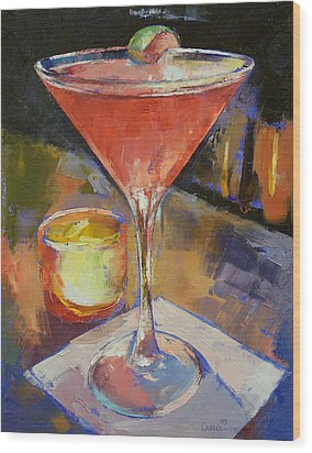 Cosmopolitan Wood Print by Michael Creese