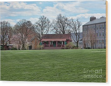 Cricket Field Haverford College Wood Print by Kay Pickens