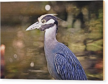 Crowned One Wood Print by Marty Koch