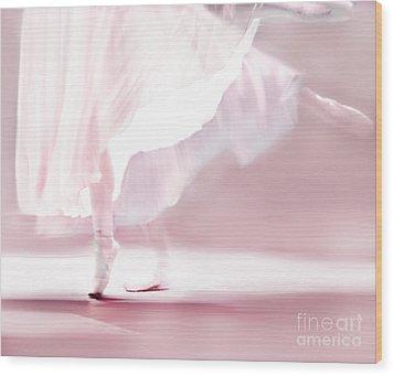 Danseur De Ballet Wood Print by Linde Townsend