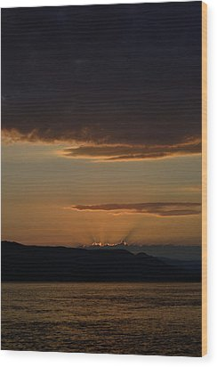 Darkness Falls Wood Print by Joshua Massenburg