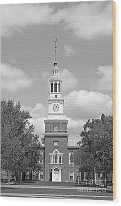 Dartmouth College Baker- Berry Library Wood Print by University Icons