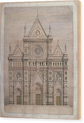 De Fabris Emilio, Dome, Draft Wood Print by Everett