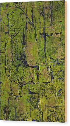 Deep South Summer Coming On - Panel II - The Green Wood Print by Sandra Gail Teichmann-Hillesheim