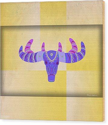 Deer 2 Wood Print by Mark Ashkenazi
