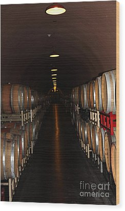 Deerfield Ranch Winery 5d22215 Wood Print by Wingsdomain Art and Photography