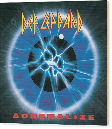 Def Leppard - Adrenalize 1992 Wood Print by Epic Rights