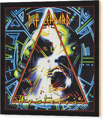 Def Leppard - Hysteria 1987 Wood Print by Epic Rights