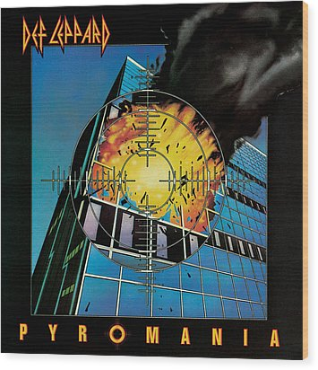 Def Leppard - Pyromania 1983 Wood Print by Epic Rights
