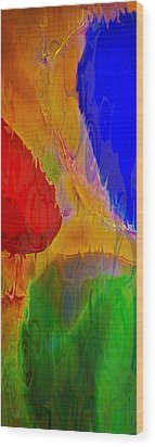 Delicious Colors Wood Print by Omaste Witkowski