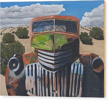 Desert Varnish Wood Print by Jack Atkins