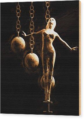 Desire Wood Print by Bob Orsillo
