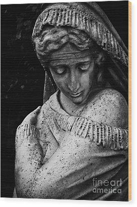 Despair Wood Print by Colleen Kammerer