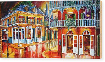 Divine New Orleans Wood Print by Diane Millsap