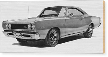 Dodge Coronet Wood Print by Lyle Brown