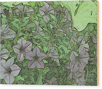 Donovan's  Garden Wood Print by Mark Herman