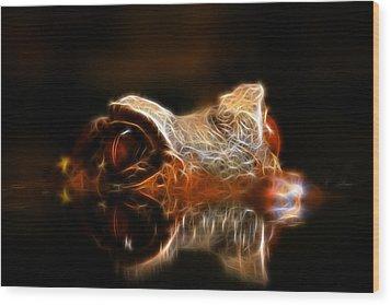 Dragons Lair Wood Print by Steve McKinzie