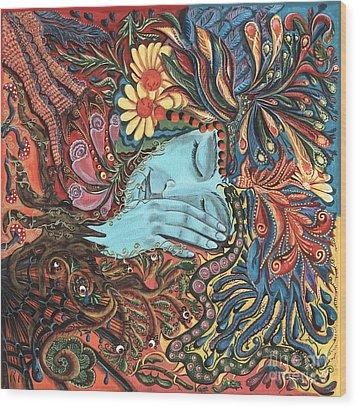 Dream Wood Print by Vera Tour
