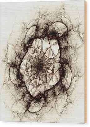 Dreamcatcher Wood Print by Anastasiya Malakhova